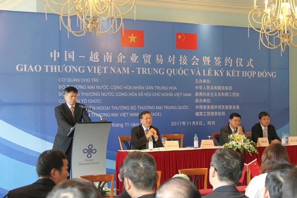 Dịch vụ hợp tác thương mại Trung Quốc - Việt Nam